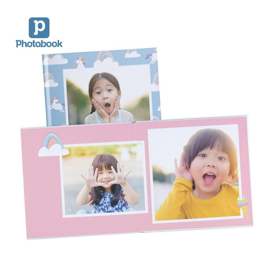 "[e-Voucher] Photobook Malaysia 8"" x 8"" Small Square Imagewrap Premium Lay Flat Photobook, 22+2 Pages"