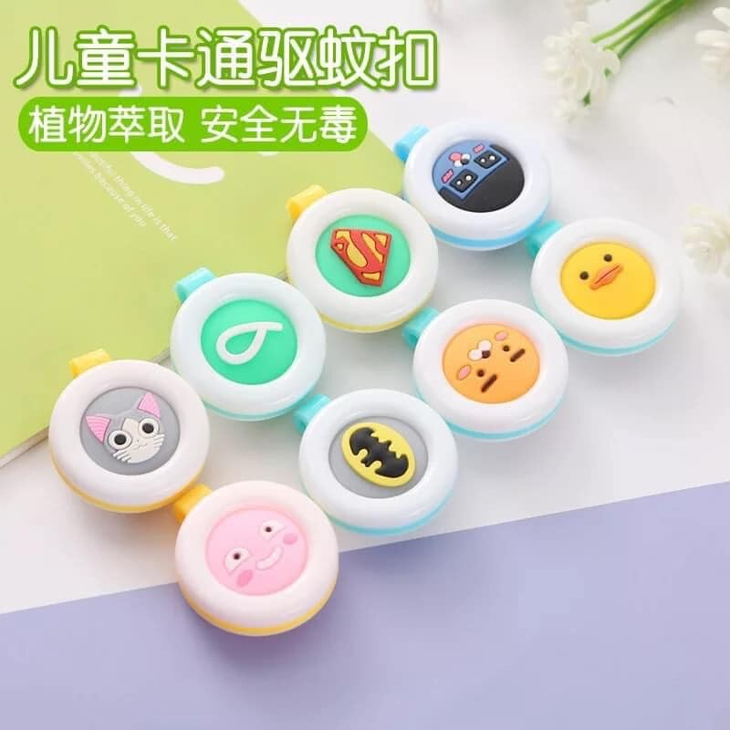READY STOCK15pcs Insect Repellent Anti Mosquito Bug Button Pest Control Clip