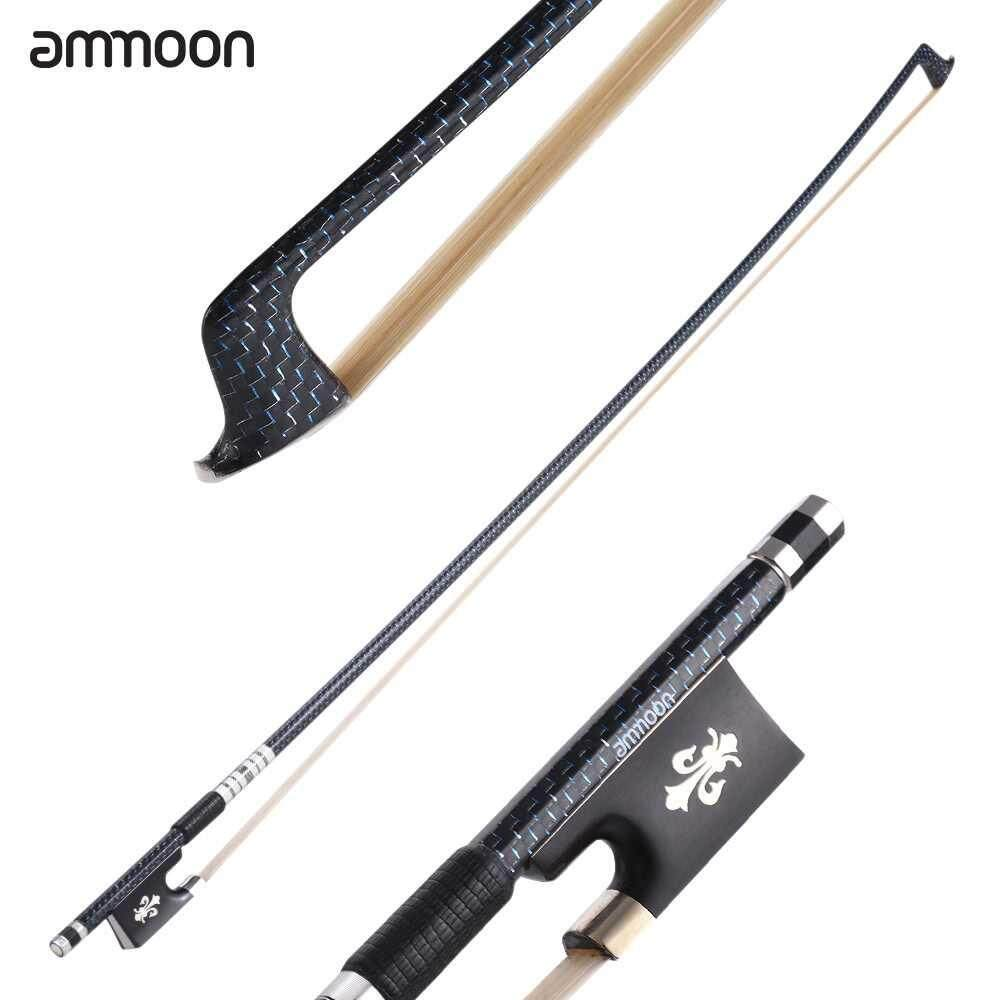 ammoon Well Balanced 4/4 Violin Fiddle Bow
