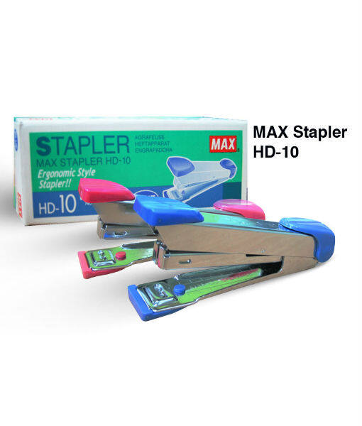 [READY STOCK CLEARANCE]MAX STAPLER HD-10 - RANDOM COLOUR