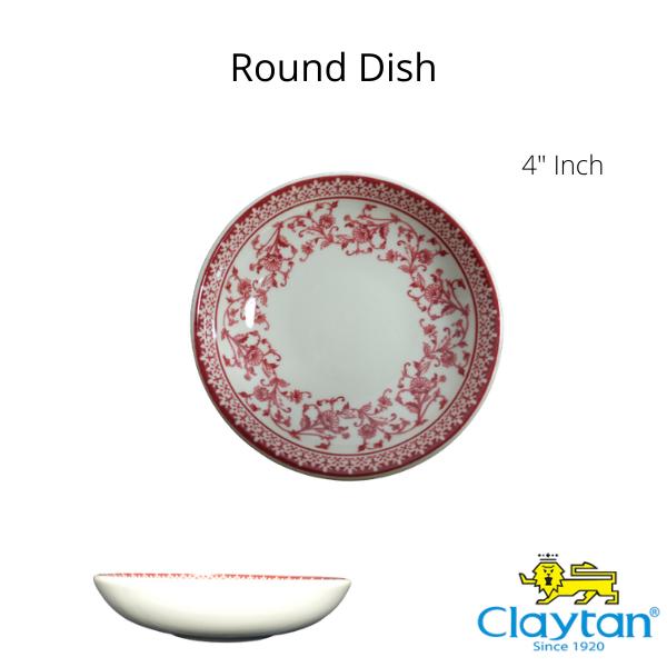 Claytan Tableware- Oriental Ceramic- 1505PS Aster Pink