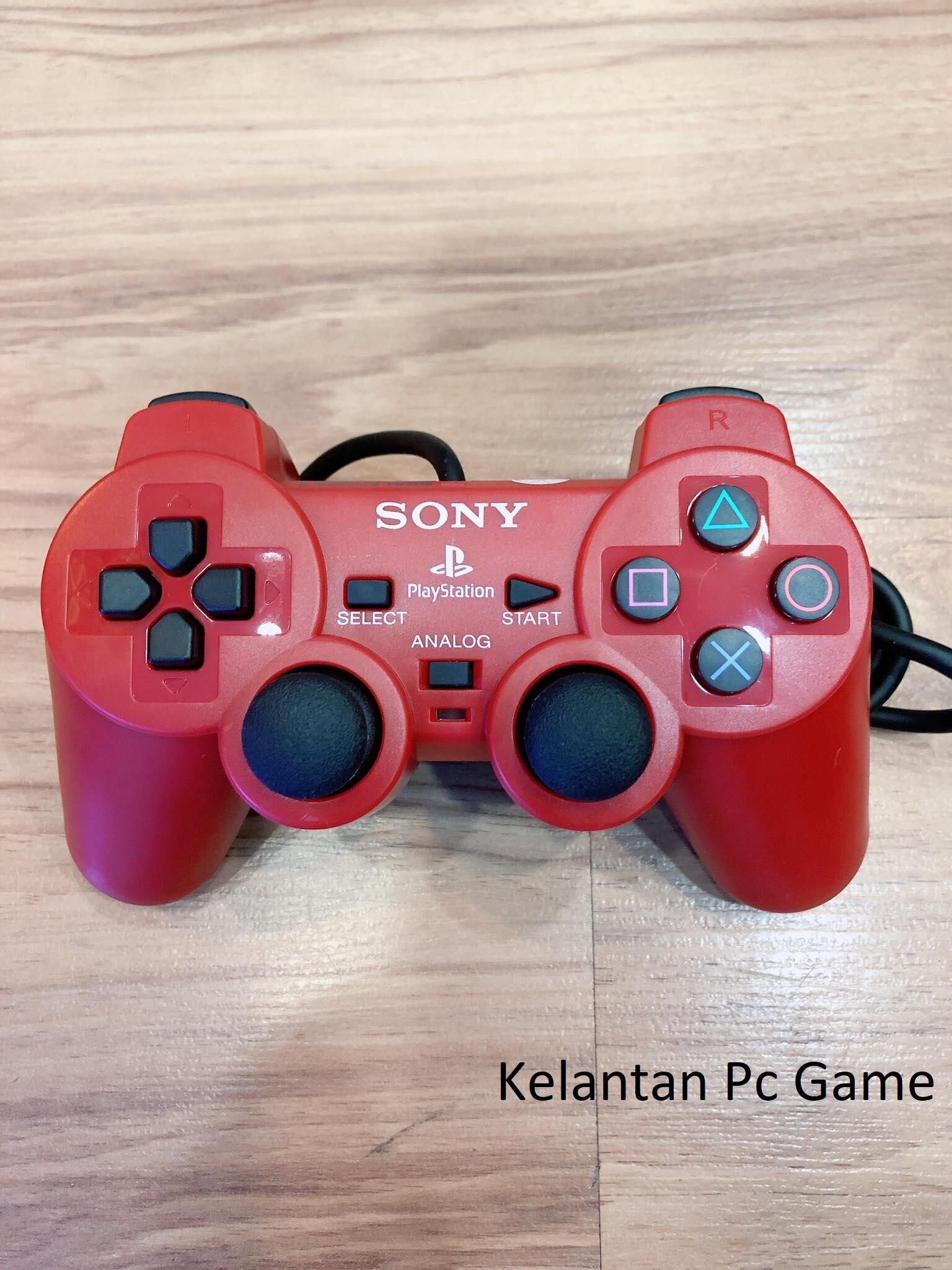 Original PS2  Controller Joystick Warranty 1 Year (Stock Ready)