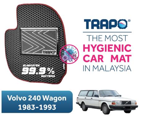 Trapo Car Mat Volvo 240 Wagon (1983-1993)