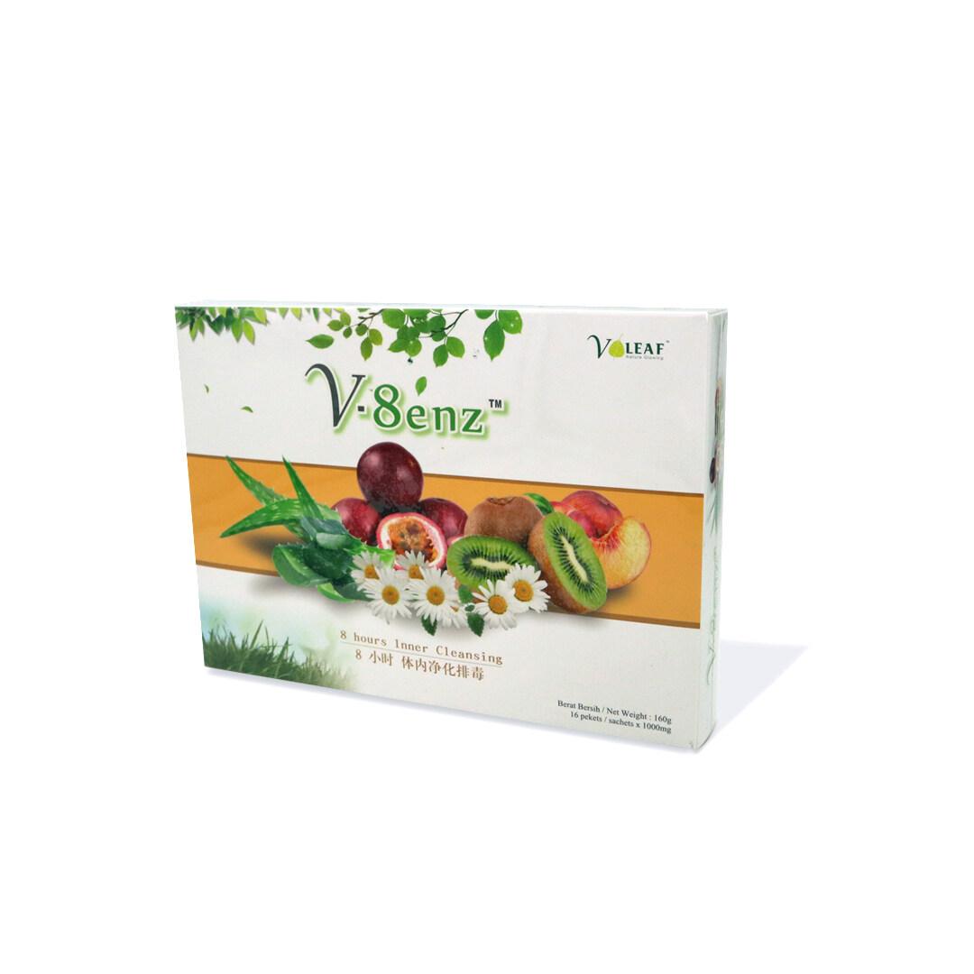 V-8 enz  8 hours Inner Cleansing  Detoxification  Slimming