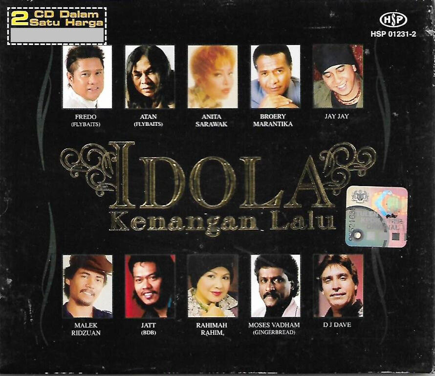 Idola Kenangan Lalu 2CD Fredo Flybaits / Atan / Anita Sarawak / Jay Jay / Moses Vadham Gingerbread / Malek Ridzuan