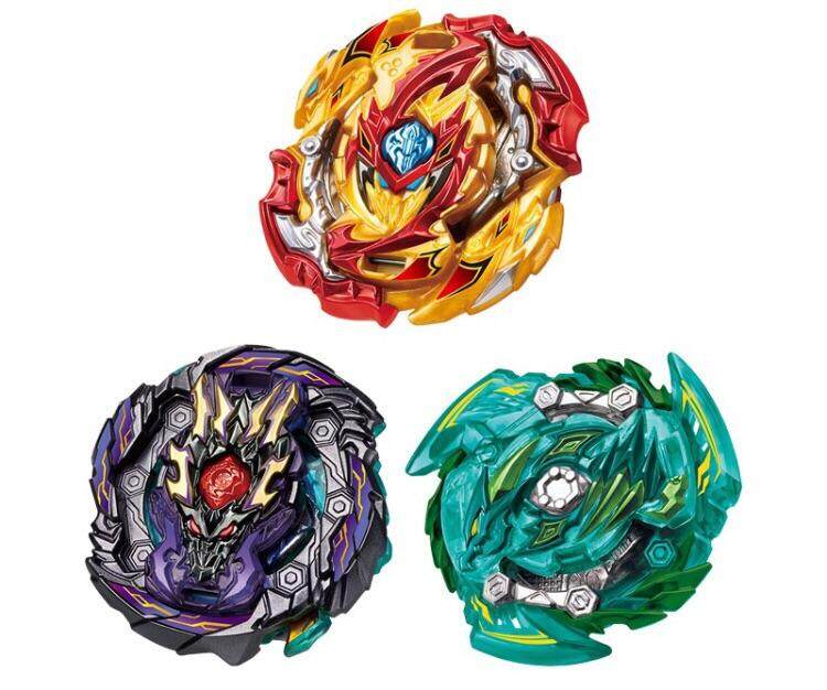 TAKARA TOMY BEYBLADE BURST GT B-149 GT TRIPLE BOOSTER SET Toys for boys