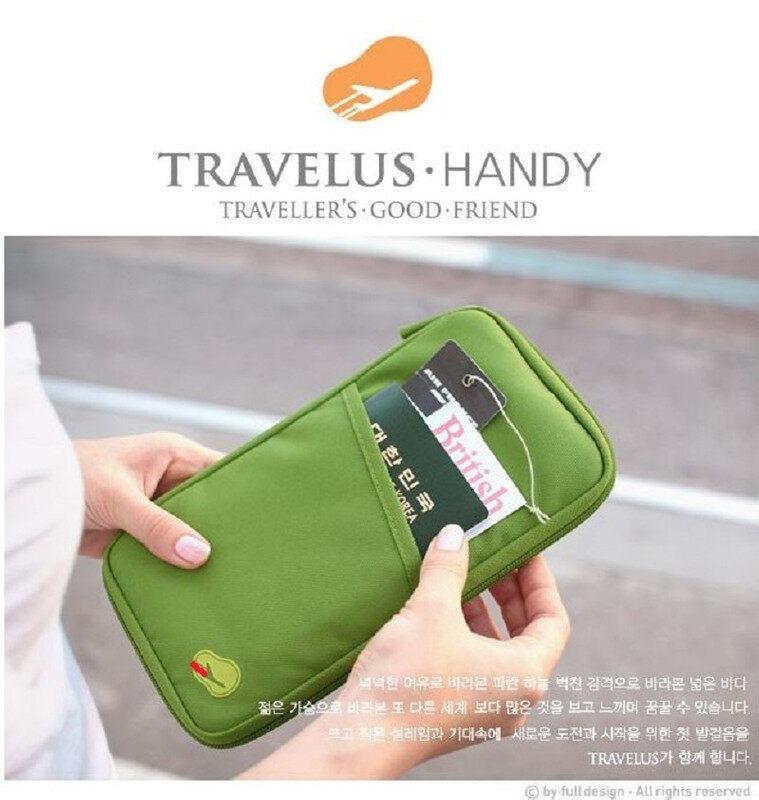 TRAVELOUS Wallet Pouch Multi Purpose Travel Document Bag Passport Cover