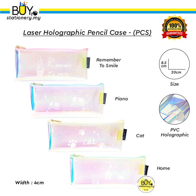 Laser Holographic Pencil Case - (PCS)
