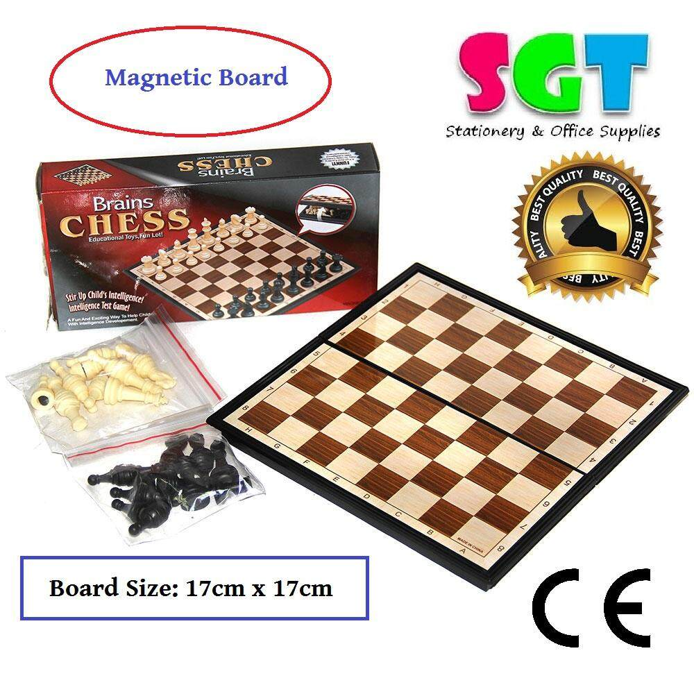 Brains Magnetic Chess Game (8308)