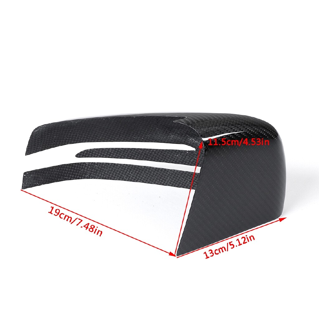 Automotive Tools & Equipment - Real Carbon Fiber Side Mirror Cover For Mercedes Benz W204 C250 C300 C350 C63 - Car Replacement Parts