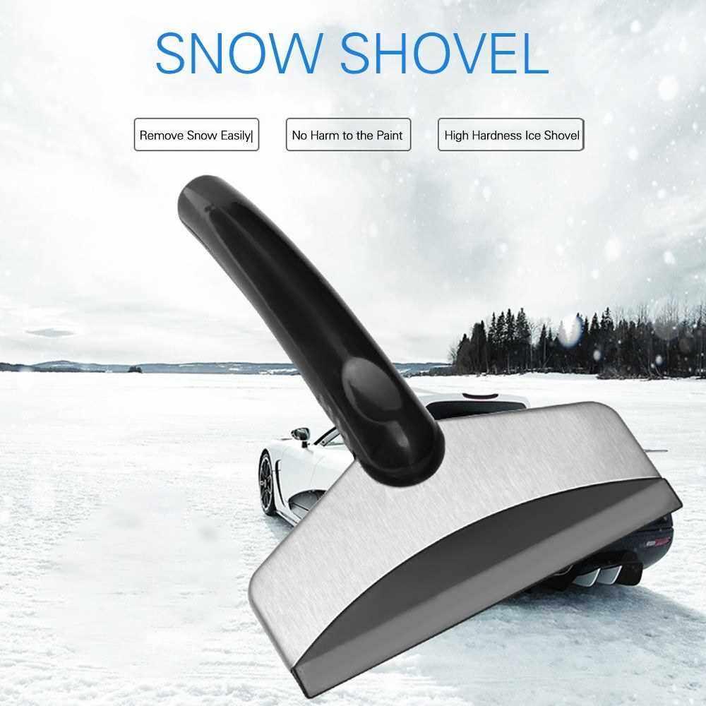 Snow Ice Deicing Scraper Shovel Car Windshield Cleaning & Winter Deicing Snow Removal Scraper Ice Shovel (Standard)