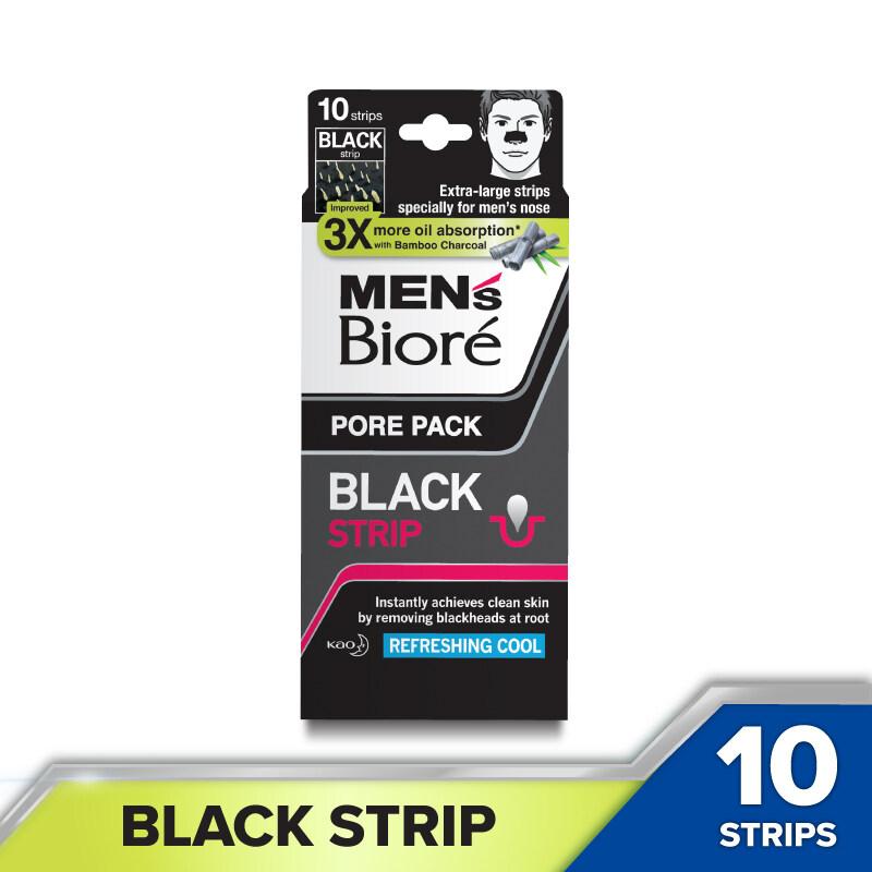 Men's Biore Pore Pack Black Strip (10s)