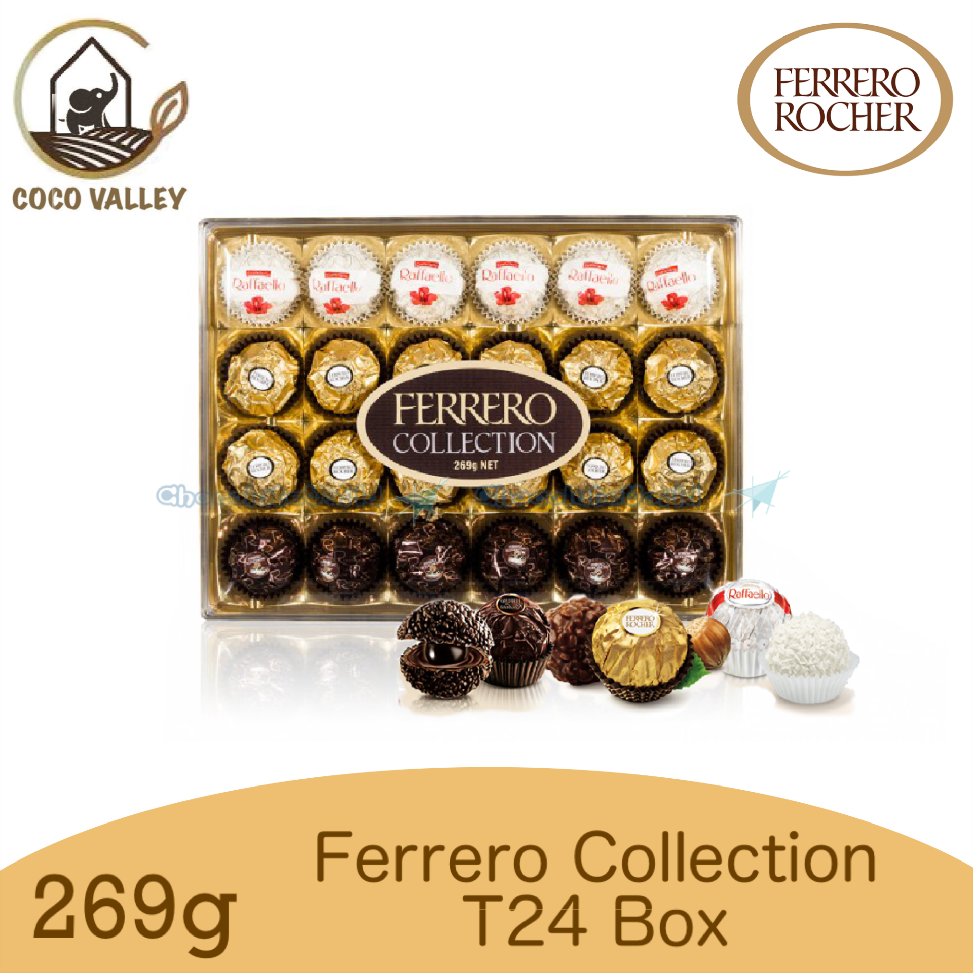 Ferrero Rocher Collection 24T 269g (Made in Italy)