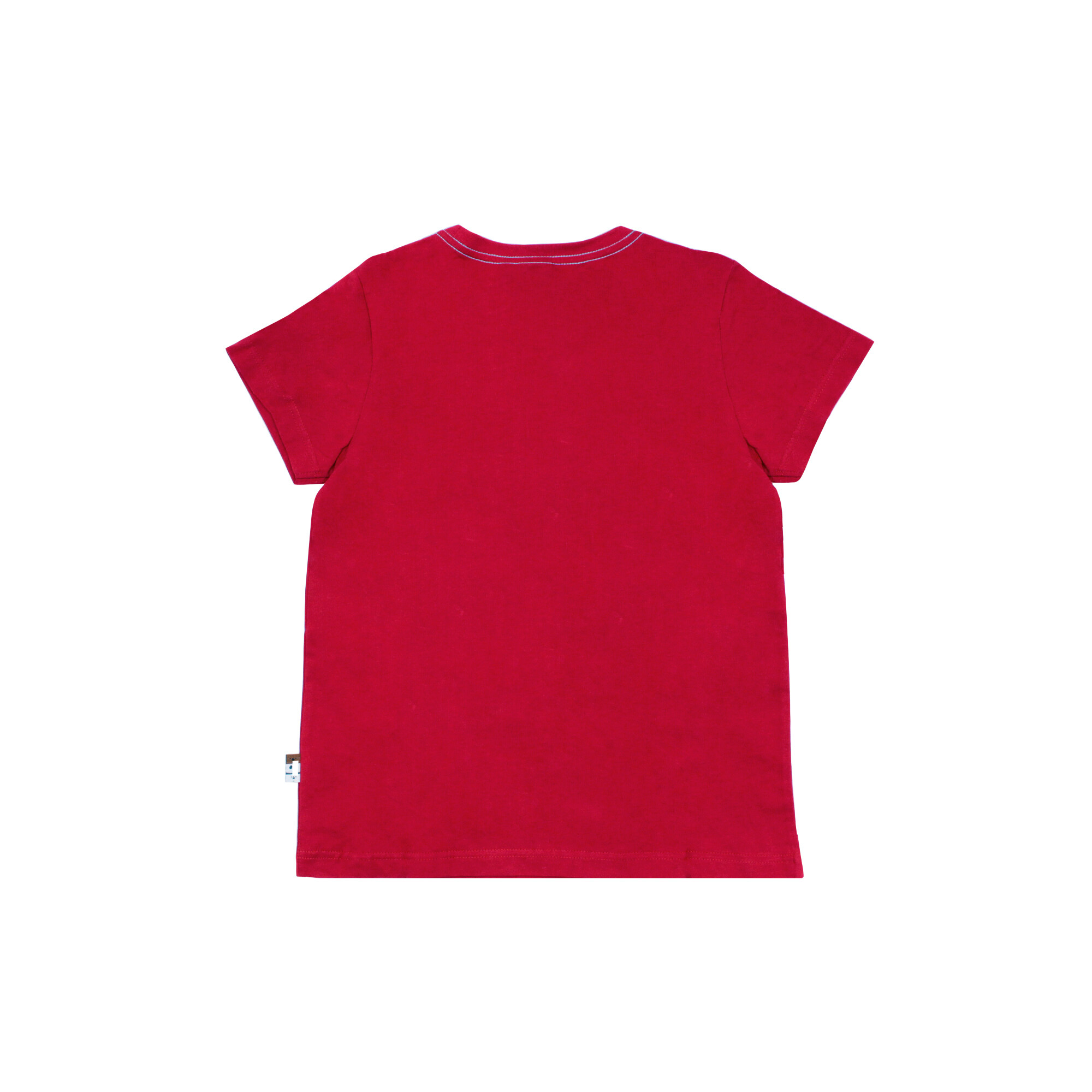 We Bare Bears Men Tee 100% Cotton Red Colour - Ice Bear