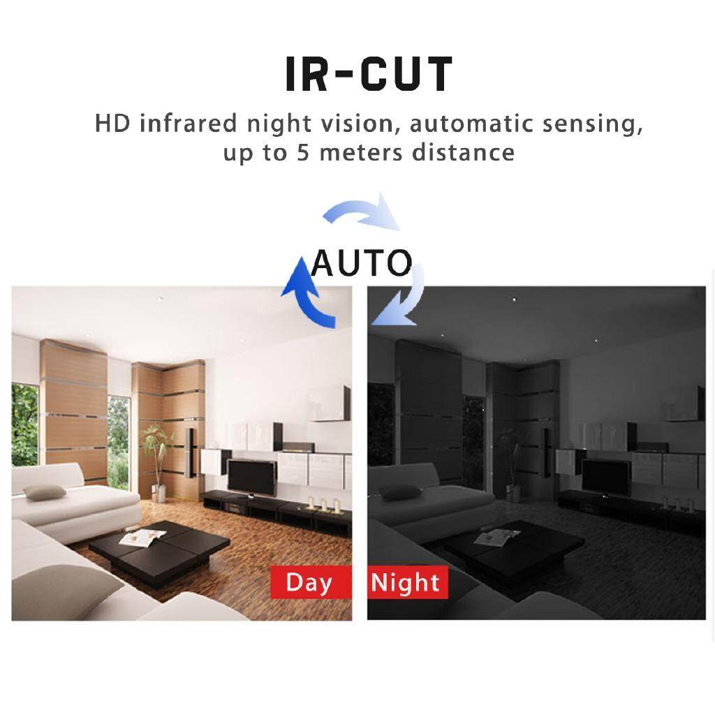 CCTV Security Cameras - Smart MINI 1080P Full HD Infrared IR-CUT Camera Night Vision Micro Home Indoor - Systems