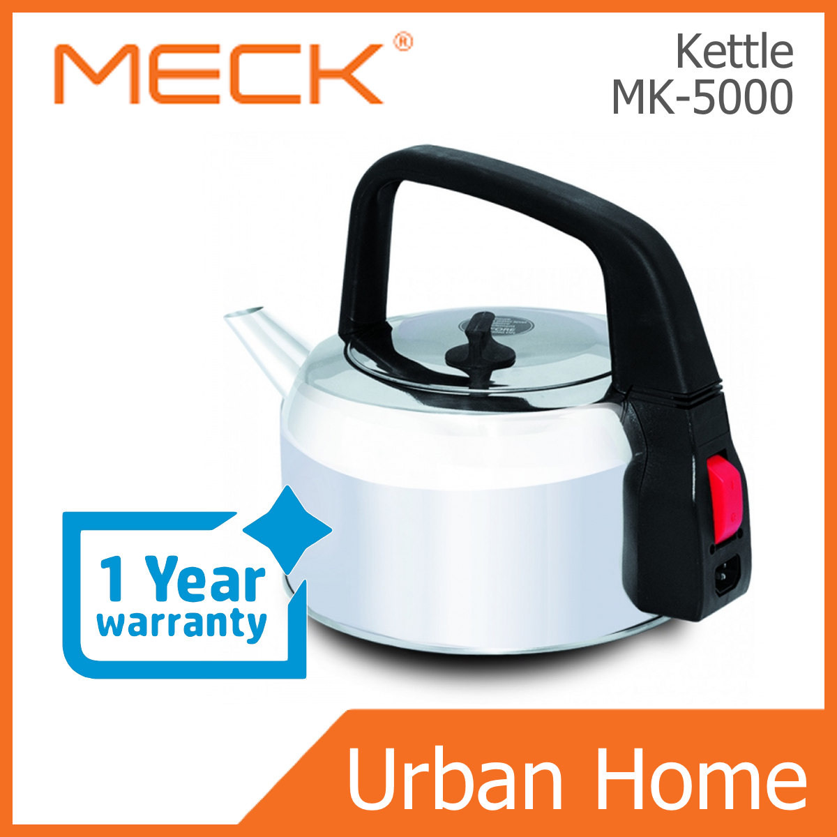 MECK 5L Automatic Electrical Kettle (MK-5000/MK5000)