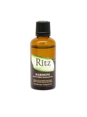 RITZ MASSAGE OIL 50ML [HARMONI: ANTI STRESS]