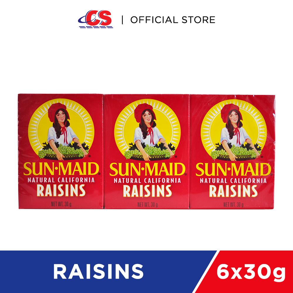 SUNMAID Raisins 6x30g