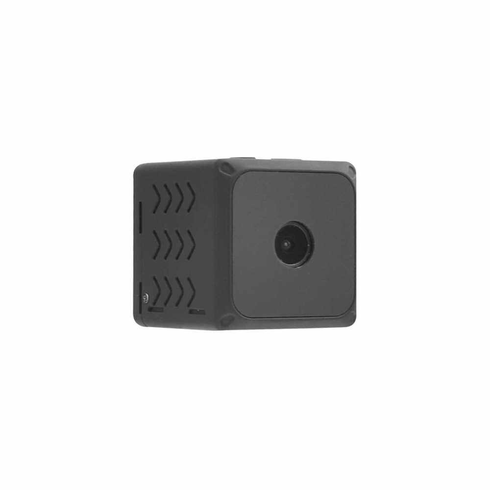 Wireless Wi-Fi Camera with Mic Mini Camera with Night Vision and Motion Sensor Home Secutity Camera Supports Up to 128GB for Car Surveillance Baby Pet Drone (Standard)