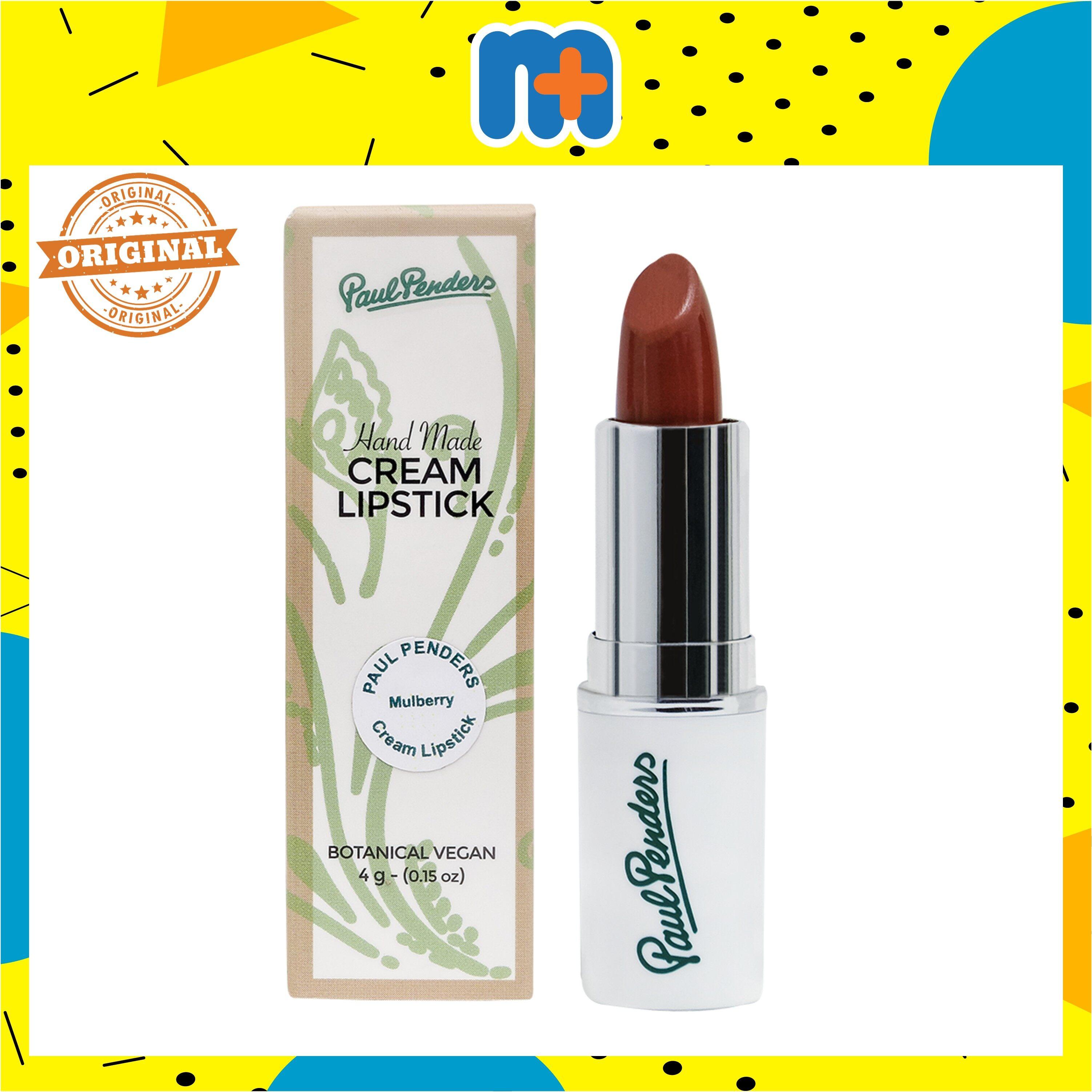 [MPLUS] PAUL PENDERS HANDMADE CREAM LIPSTICK MULBERRY 4G lipstick