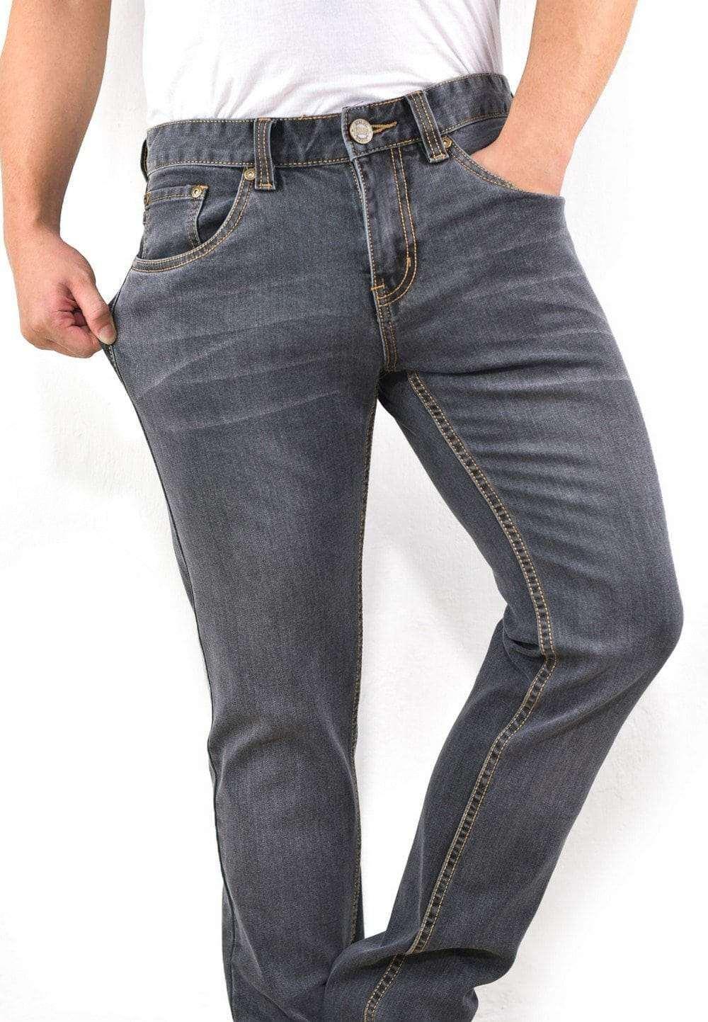 Stretchable Skinny Denim Long Pants 687