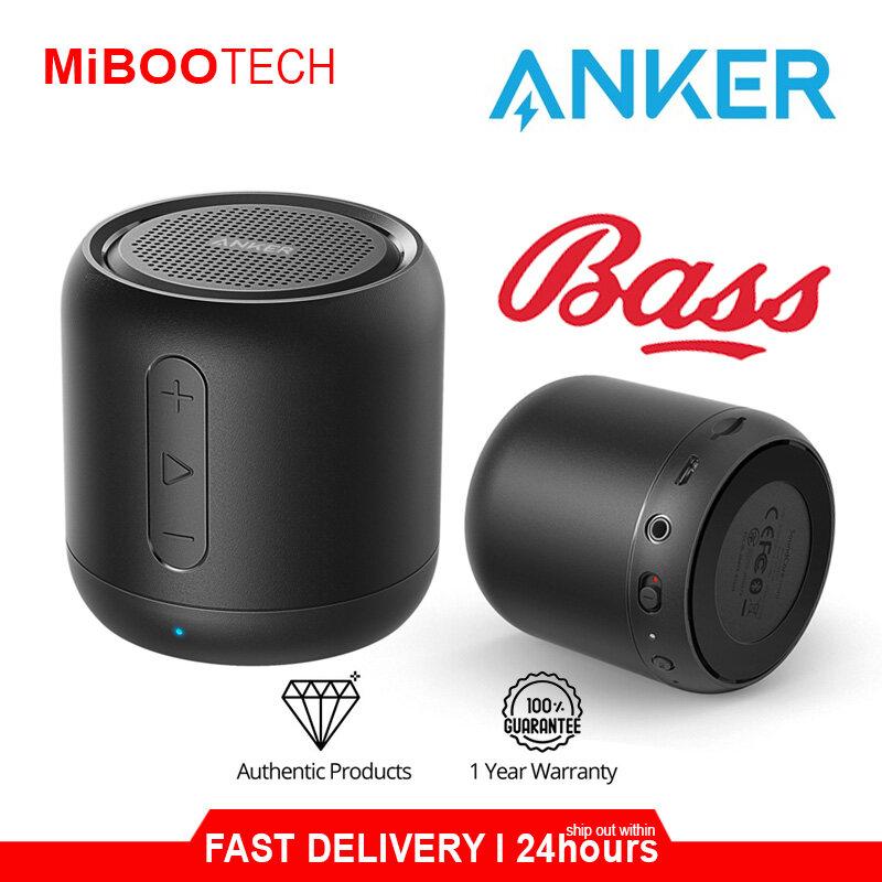 [Miboo] Original Anker SoundCore mini Super-Portable Bluetooth Speaker 15-Hour Playtime Super Bass Music Speaker