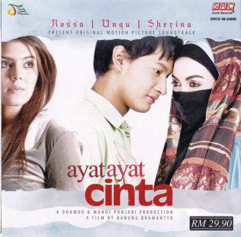 Ayat Ayat Cinta Original Soundtrack OST CD Rossa Ungu Sherina