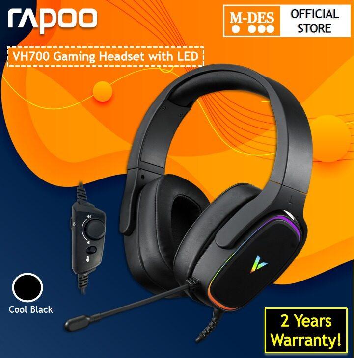 Rapoo VH700 Virtual 7.1 Channel Gaming Headset Headphone LED Backlight [2 Years Warranty]