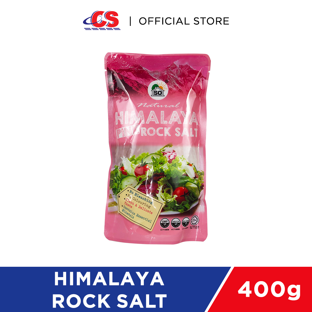 SO NATURAL Himalaya Rock Salt 400g