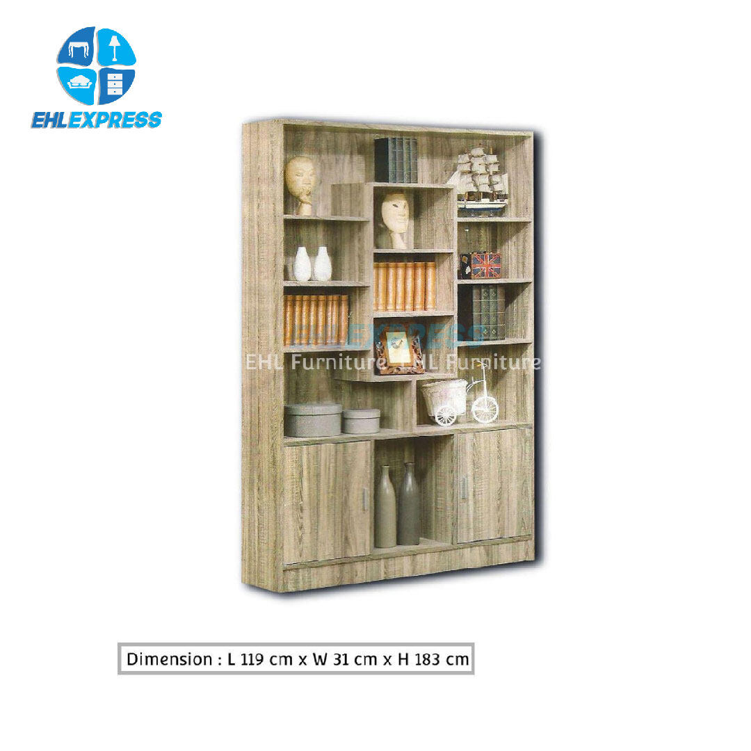 EHL EXPRESS Storage Cabinet with 2 doors & shelves racks