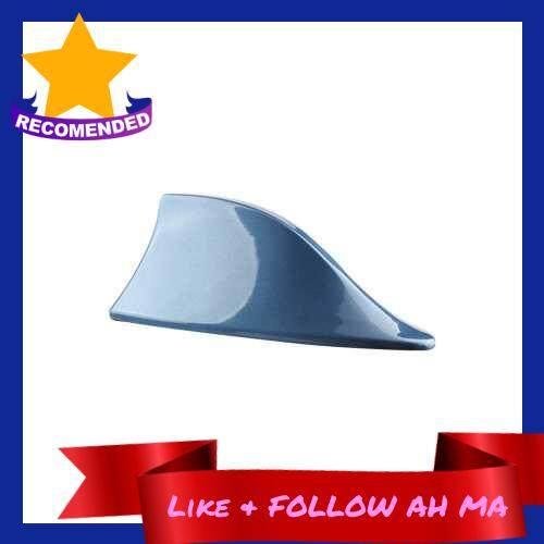 Best Selling Car Shark Antenna Auto Roof Shark Fin Universal Antenna FM/AM Signal (Blue)
