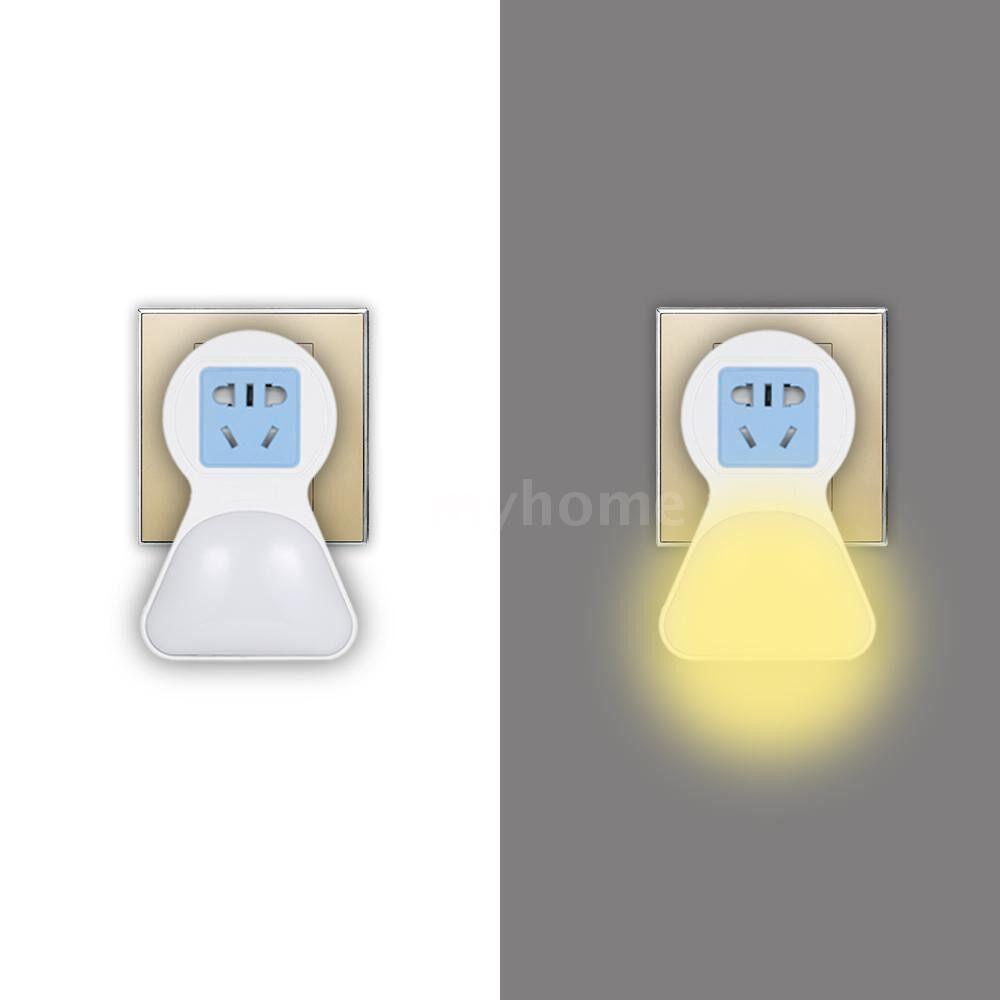 Lighting - Bedroom Hallway Plug-in Night Light Baby Room Kitchen Compact LED Night Lamp with Socket & Plug & - Home & Living
