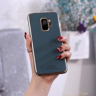 Ốp Silicon Mạ Cho Samsung Galaxy S9 Plus BJONE Dành Cho Galaxy S9 Vỏ Mềm TPU Bảo Vệ Toàn Bộ Mịn thumbnail