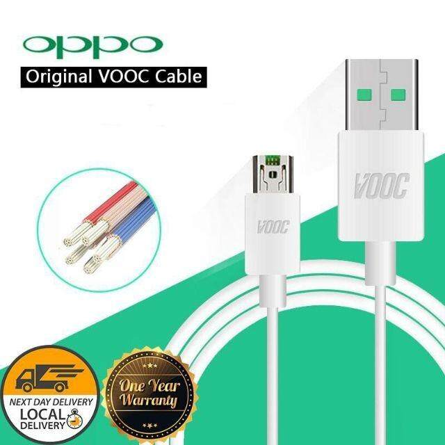 LOCAL SELLER READY STOCK ~100% OPPO ORIGINAL [ VOOC FAST CHARGING ] DATA USB CABLE