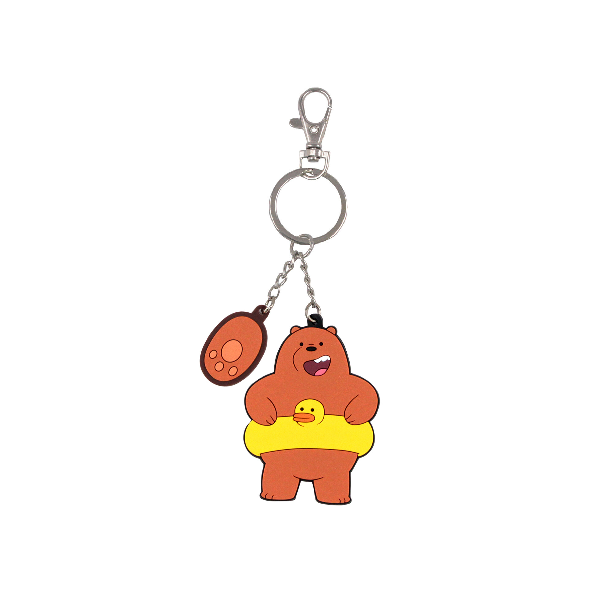 We Bare Bears Pvc Keychain- Grizz