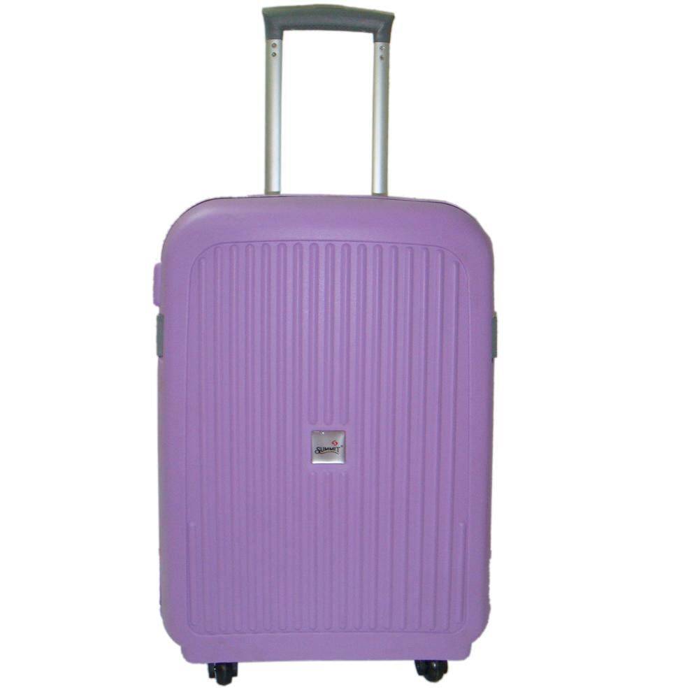 Summit MA1304  PP Hard Case Trolley with Clipper 18 inch Purple