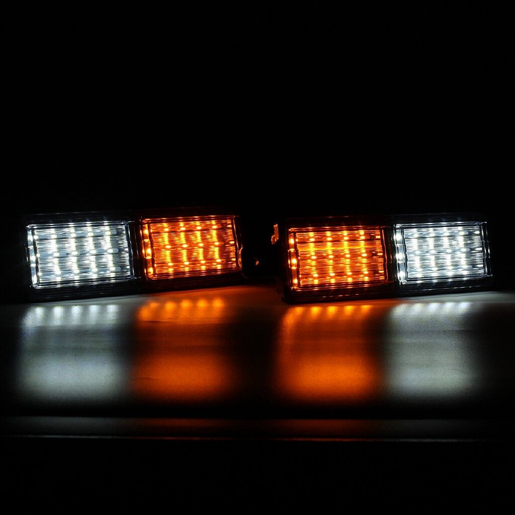 Car Lights - 2 PIECE(s) Front Indicator Park Universal LED Bull Bar Light Truck Ter Lamp 10-30V - Replacement Parts