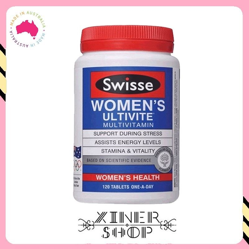 [Pre Order] Swisse Women's Ultivite Multivitamin (120 Tablets) (Made In Australia)