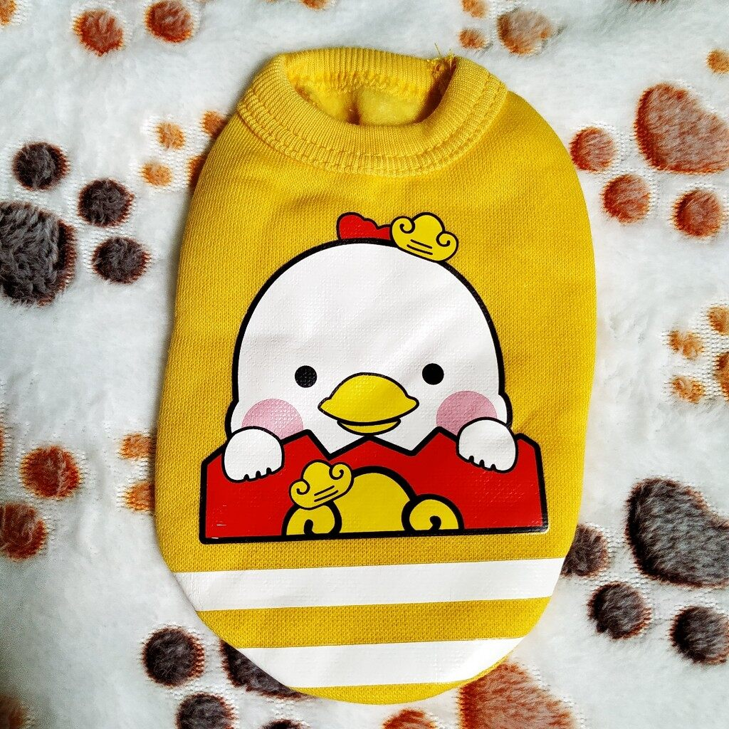 Mini Cloth for Babypets (Yellow Chicken)