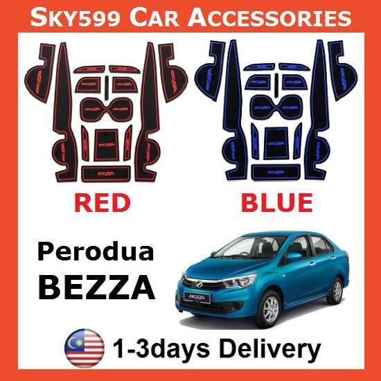 Perodua Bezza Interior Slot Mat Storage Tank Mat