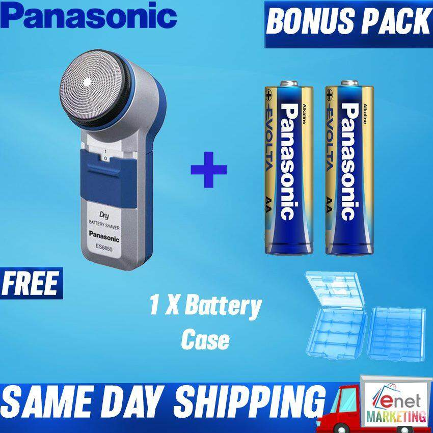Panasonic Battery Operated Shaver ES6850 (Free Battery Case)