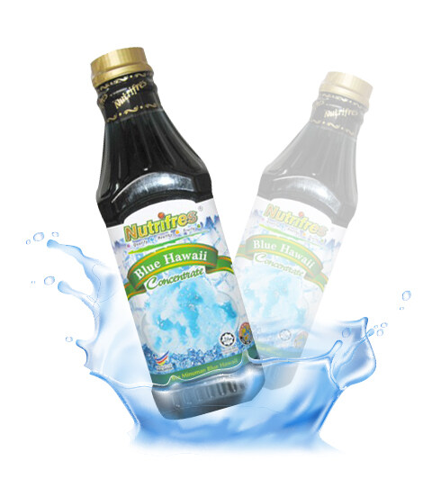 NutriFres Blue Hawaii Concentrate / Cordial 1L