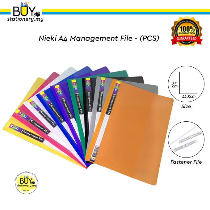Nieki A4 Management File - (PCS)