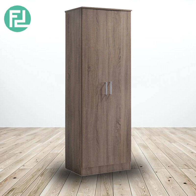 KINGSLEY 2 DOOR WARDROBE-WALNUT DS6161A