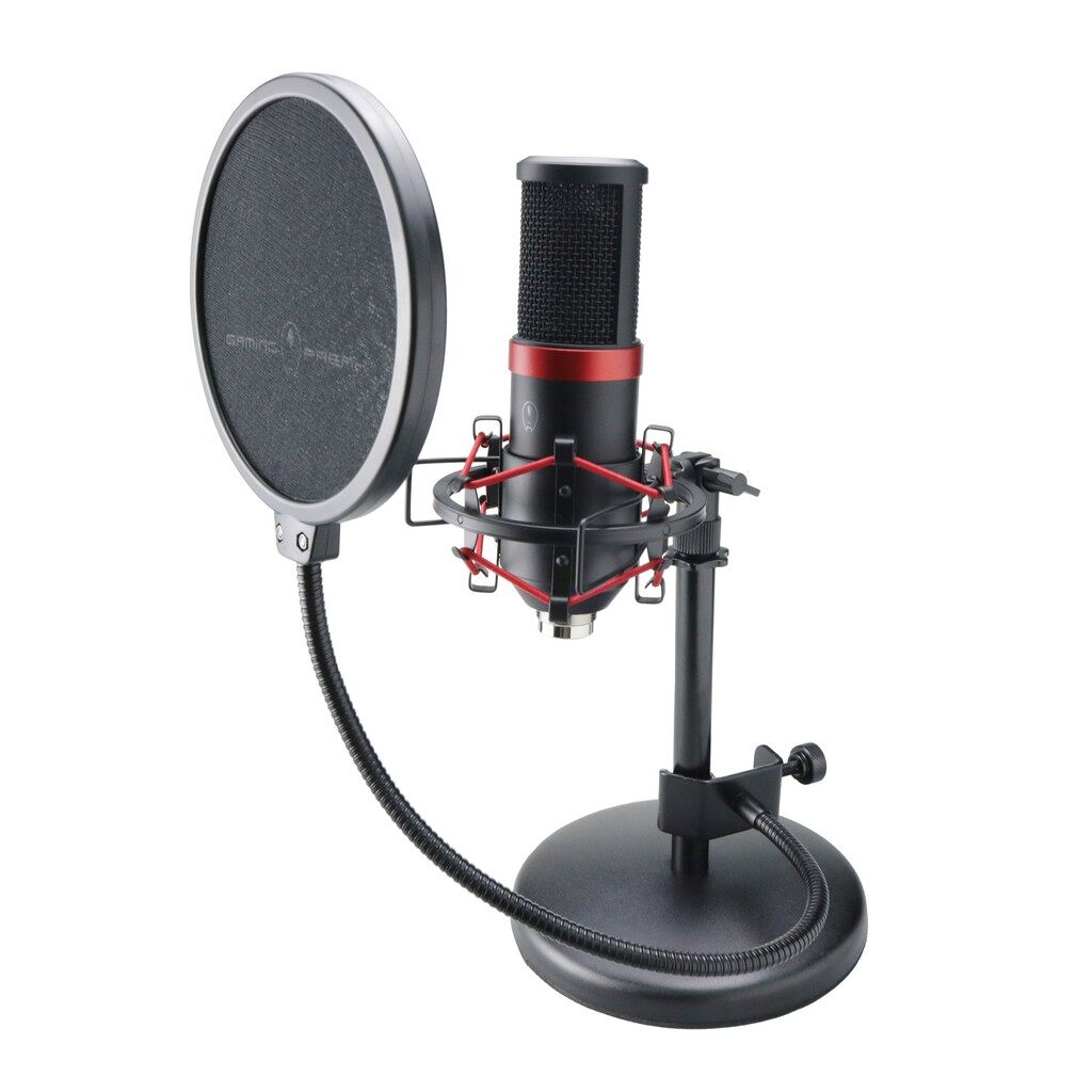 AVF Gaming Freak Microphone USB Chanter Studio Pro with High Precision Cardioid Recording Pattern; for streaming, podcasting, voice-overs and acoustic music.