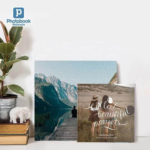 LazChoice [BDAY SALE GIFT SET] [e-Voucher] (Bundle) 6 x 6 Mini Softcover Photobook + 8 x 8 Canvas