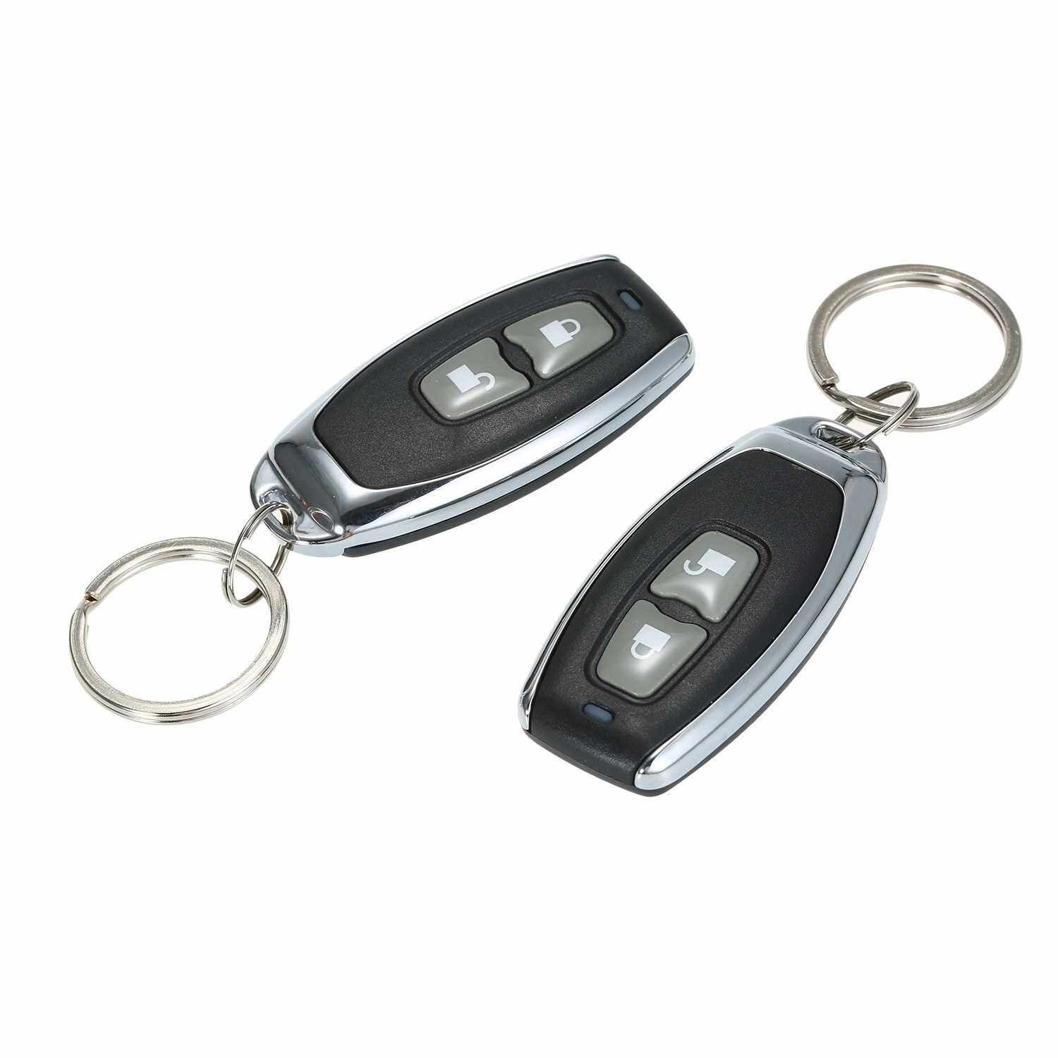Best Selling Universal Car Door Lock Trunk Release Keyless Entry System Central Locking Kit With Remote Control Support 1 Million Code Times (Standard)