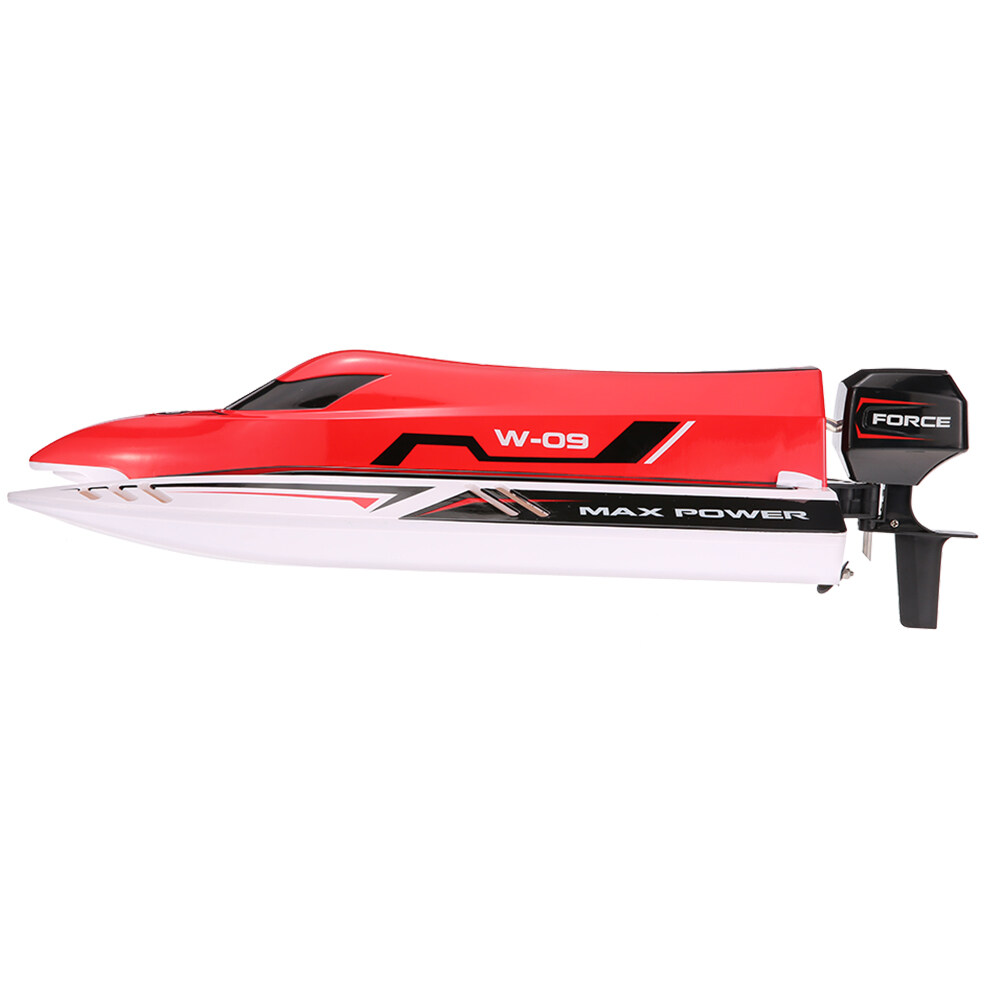 WL915 2.4Ghz2CH F1 45km/h Brushless High Speed Racing Boat Model RC Boat Speedboat Kids Gifts RC Toys with 3S 11.1V LiPo Battery
