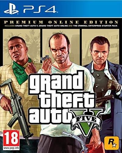 PS4 GTA V Grand Theft Auto V Premium Online Edition (R3/ENG)