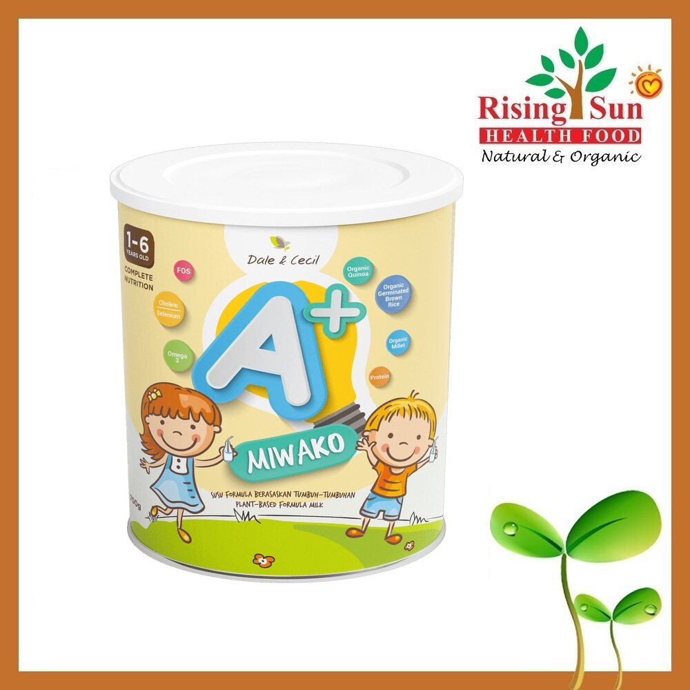 Dale & Cecil MIWAKO A+ Complete Nutrition Milk for Toddler 700g